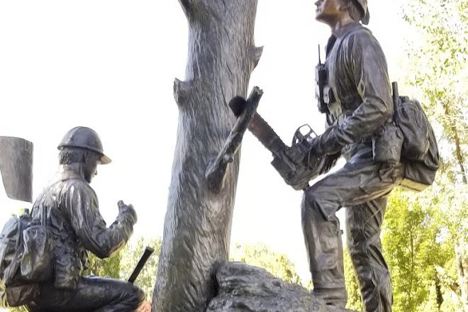Wildland Firefighters Monument, Prineville, United States