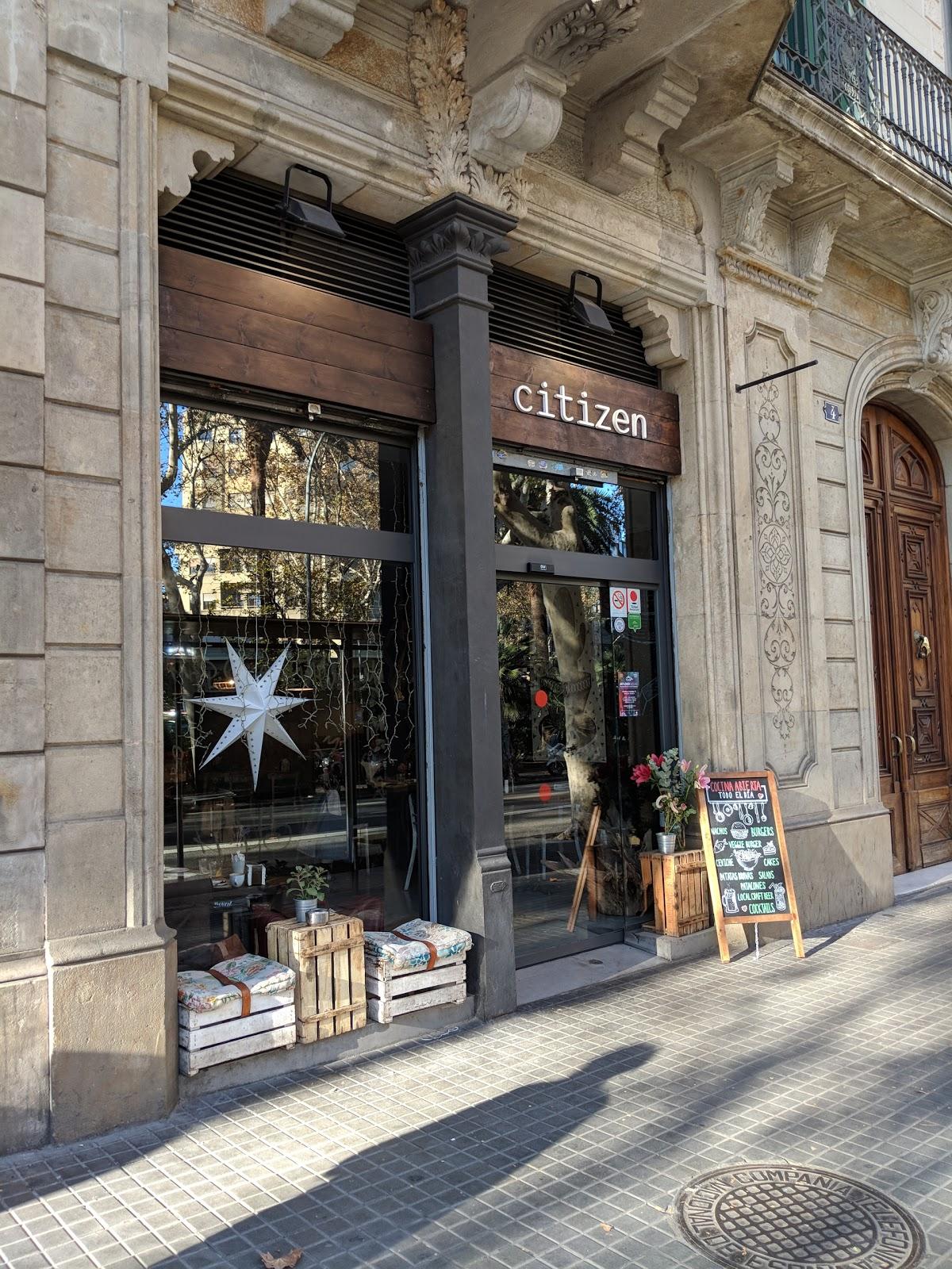 Citizen Café: A Work-Friendly Place in Barcelona