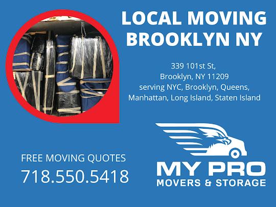 My Pro Movers Brooklyn 339 101st St, Brooklyn, NY 11209 718-550-5418