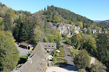 Chateau d'Anjony, Tournemire, France