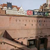 Железнодорожная станция  Leipzig Markt