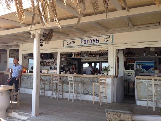 Paraga Beach, Taverna Tasos