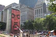 Crown Fountain, Chicago, United States