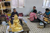 King Galon Gold Leaf Workshop, Mandalay, Myanmar