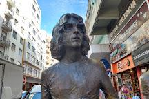 Monumento Homenaje a Sui Generis, Mar del Plata, Argentina