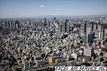 Excel Air Service Helicopter Cruising, Urayasu, Japan