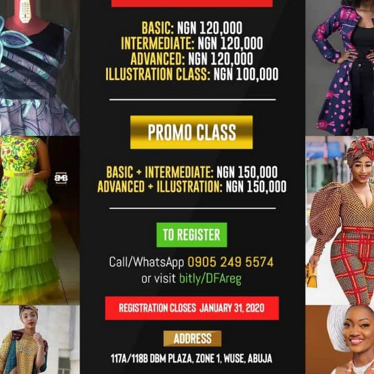 Duvessa Fashion House Fashion Design School In Abuja Federal Capital Territory