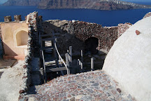 Byzantine Castle Ruins, Oia, Greece
