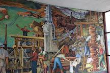 Diego Rivera's Pan American Unity Mural, San Francisco, United States