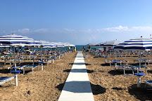 La Bussola Beach, Vieste, Italy