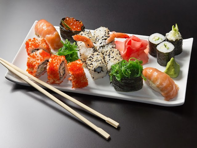 Japans sushi en grill restaurant Izumi