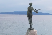 Maiden With The Seagull, Opatija, Croatia