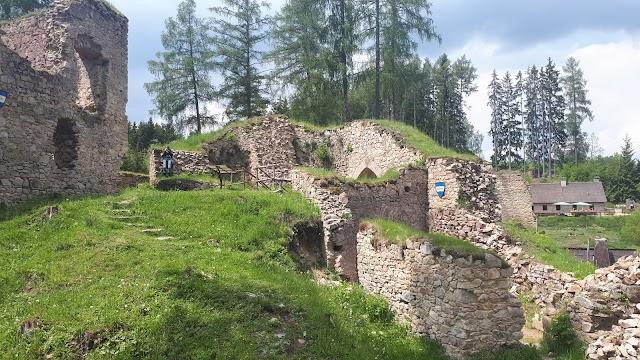 Castle ruins Pořešín