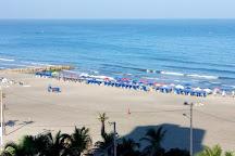Playa de Bocagrande, Cartagena, Colombia