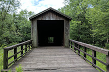 Locust Creek Covered Bridge State Historic Site, Laclede, United States