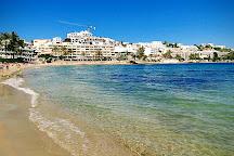 Platja de ses Figueretes, Ibiza Town, Spain
