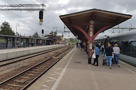Станция  Ängelholm