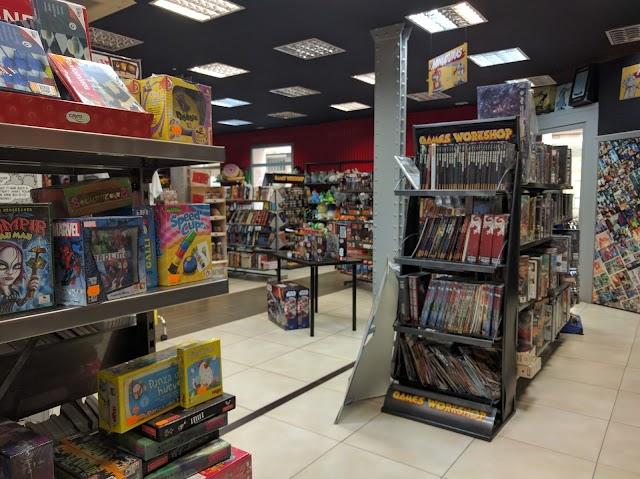 Comic Stores Soho