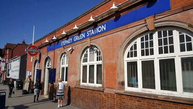 Stepney Green London Underground Station