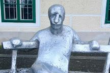 Antun Gustav Matos Statue, Zagreb, Croatia