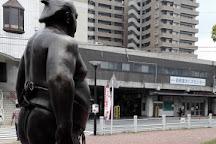 Ozeki Kaio Statue, Nogata, Japan