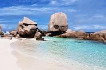 Spiagge di Anse Marron, La Digue Island, Seychelles