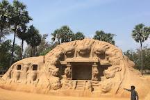 Tiger Cave, Mahabalipuram, India