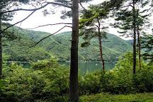 Lake Kizaki, Omachi, Japan