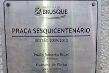 Praca Sesquicentenario, Brusque, Brazil