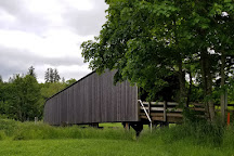 Grays River Covered Bridge, Grays River, United States