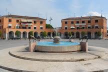 Piazza della Repubblica ex Piazza della Rivoluzione, Tresigallo, Italy