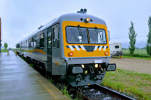 Train de Charlevoix, Baie-St-Paul, Canada