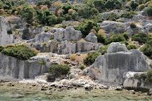 Castle of Simena, Demre (Kale), Turkey