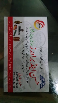 Hassan And Brother Sanitry And Hardware karachi