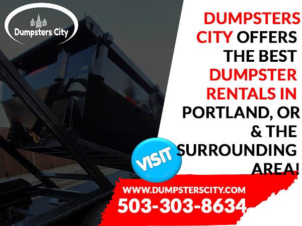 Dumpster Rental Portland Oregon - Dumpsters City