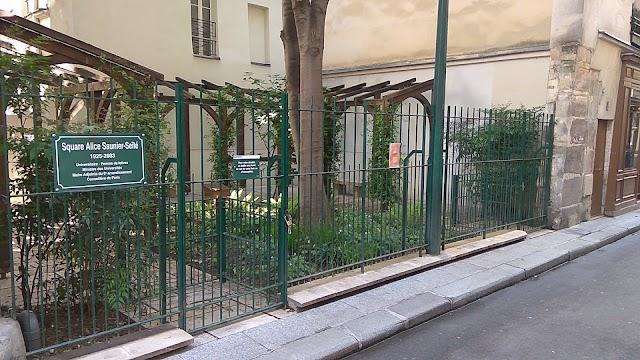 Jardin Alice-Saunier-Seïté (ex-jardin de la rue Visconti)