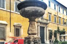 Fontana Di Piazza San Simeone, Rome, Italy