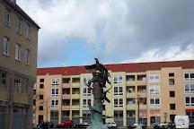 Sieben-Raben-Brunnen, Frankfurt (Oder), Germany