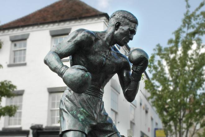 Randolph Turpin Statue, Warwick, United Kingdom