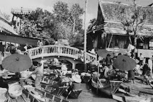 Wat Sai Floating Market, Bangkok, Thailand