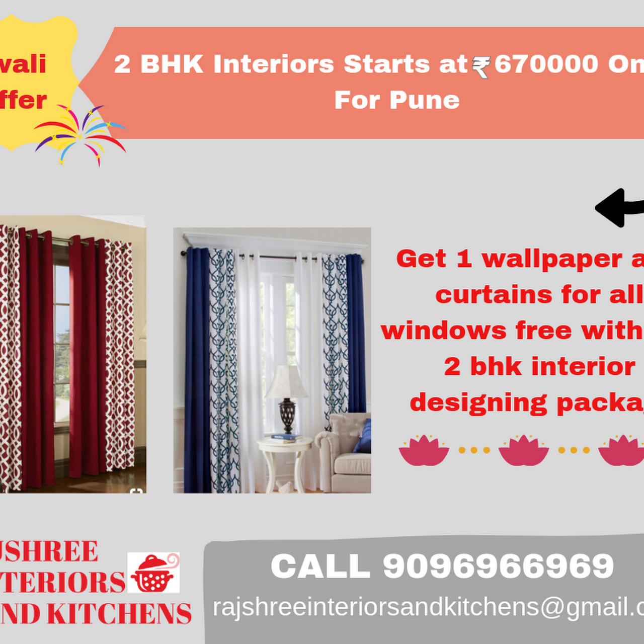 Rajshree Interiors And Kitchens We Make Your Dream Home And Office Shop Liveable