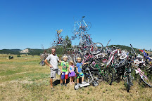 Bicycle Sculpture, Pringle, United States