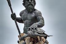 King Neptune Statue on the Boardwalk, Virginia Beach, United States