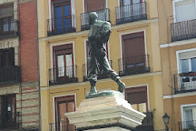 Statue of Eloy Gonzalo, Madrid, Spain