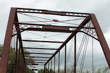 The Clifton Whipple Truss Bridge, Clifton, United States