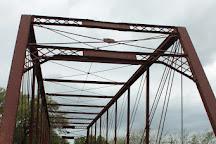 The Clifton Whipple Truss Bridge, Clifton, United States