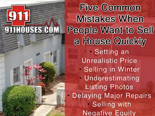 Top Mistakes People Make When They Need to Sell a House Fast