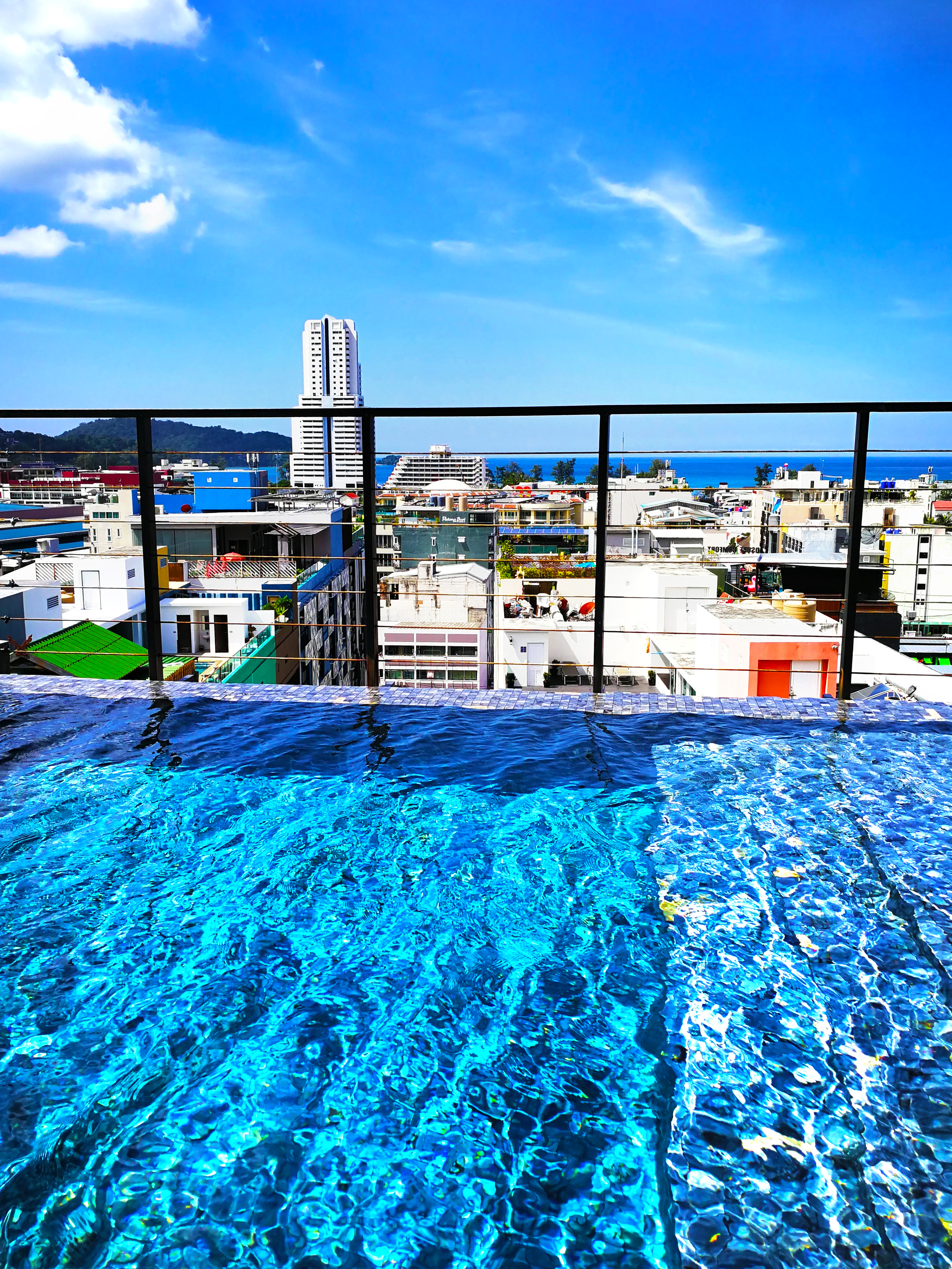 swimming pool rooftop