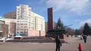 Мемориал добровольческому танковому корпусу, улица Швецова на фото Перми