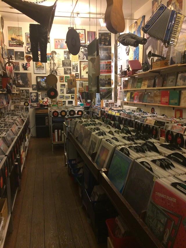 Schallplatten-Antiquariat